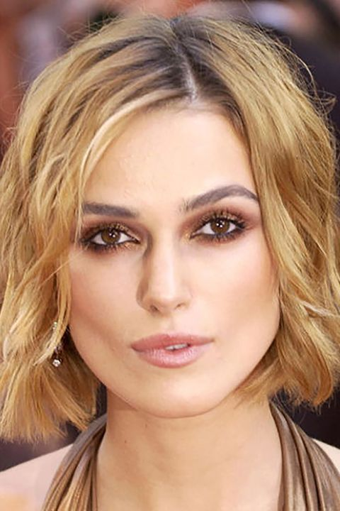 Short Celebrity Hairstyles Keira Knightley
