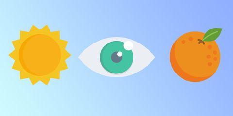 Orange, Daytime, Green, Yellow, Circle, Illustration, Logo, Fruit, Citrus, Graphics,