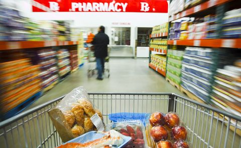grocery shopping discount store