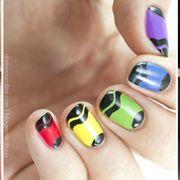 Nail polish, Manicure, Nail, Nail care, Finger, Cosmetics, Red, Pink, Service, Hand,