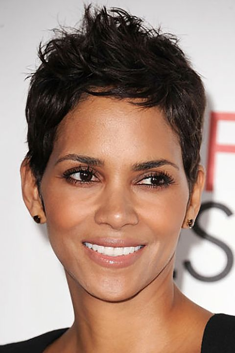 Short Celebrity Hairstyles Halle Berry