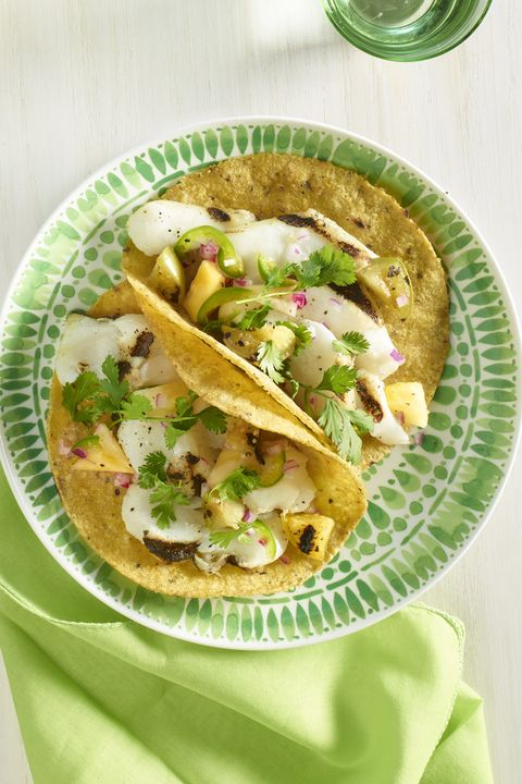Family Dinner Ideas - Grilled Fish Tacos