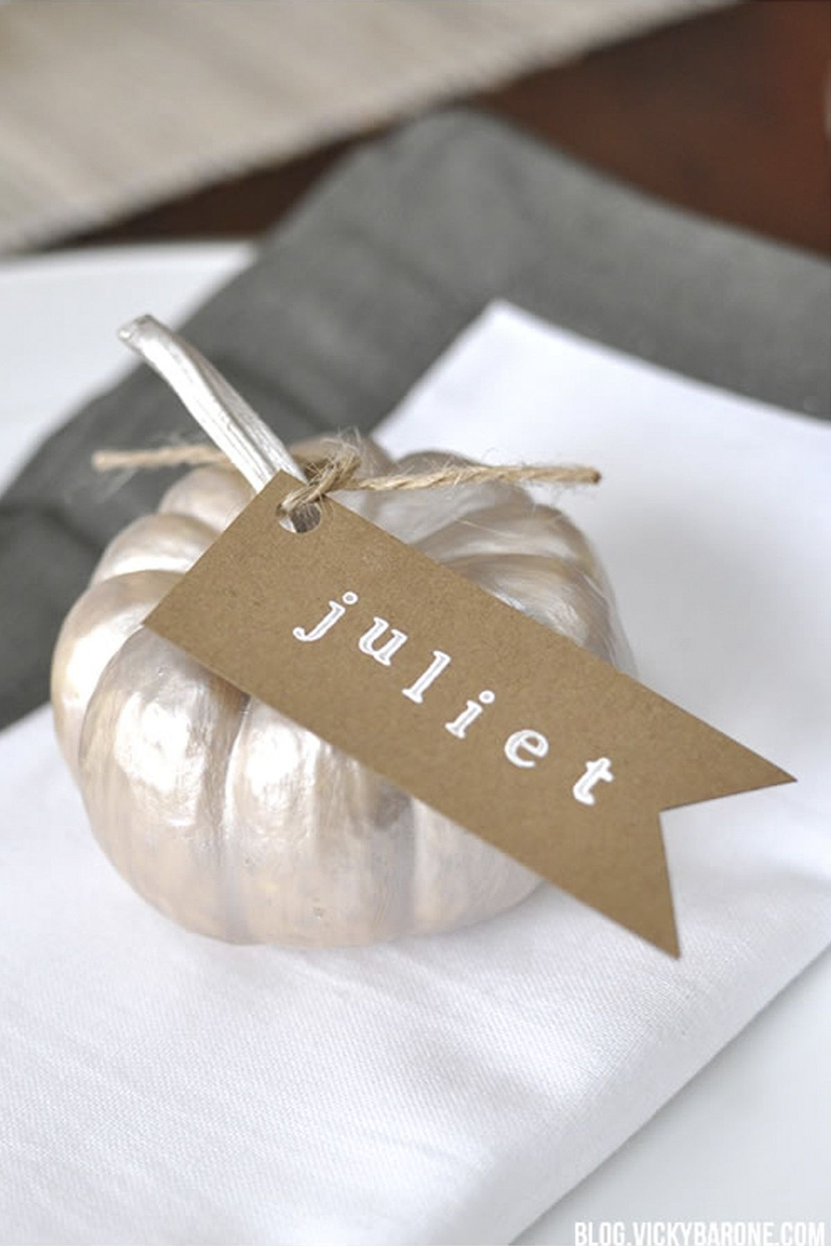 15 Diy Thanksgiving Place Cards Craft Ideas For Fall Table Name Cards