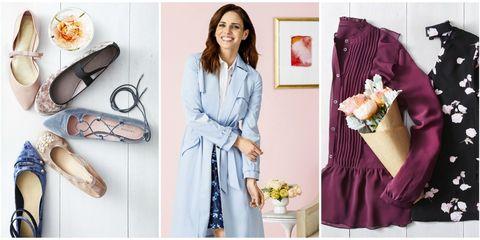 Clothing, Purple, Pink, Dress, Room, Peach, Shoe, Style, Sleeve,
