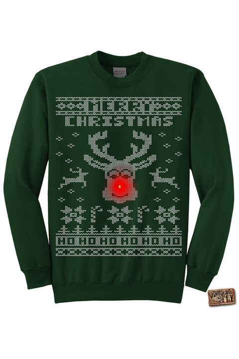b114f4edf 22 Ugly Christmas Sweater Ideas to Buy and DIY - Tacky Christmas ...