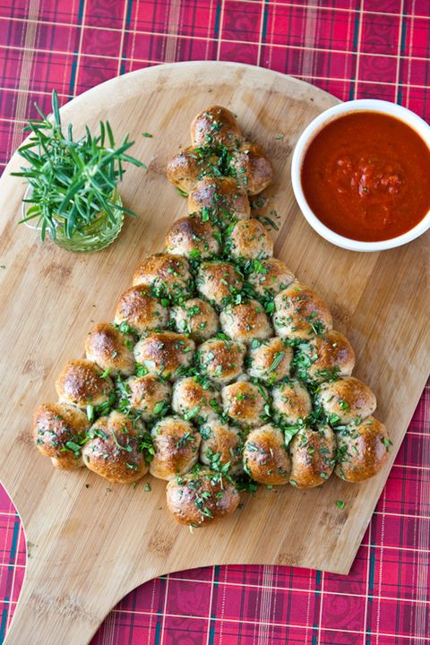 Christmas Appetizers Tree Pull Apart Bread Courtesy Of Electric Recipes