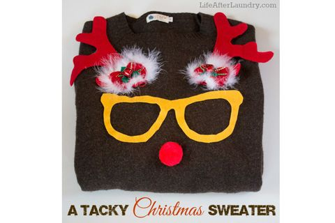 23 ugly christmas sweater ideas to buy and diy tacky christmas ugly christmas sweaters solutioingenieria Image collections