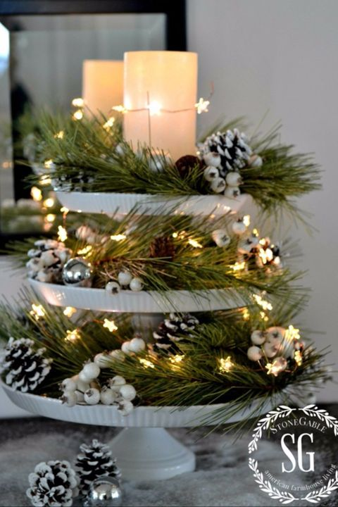 38 Christmas Table Decorations Amp Centerpieces Ideas For