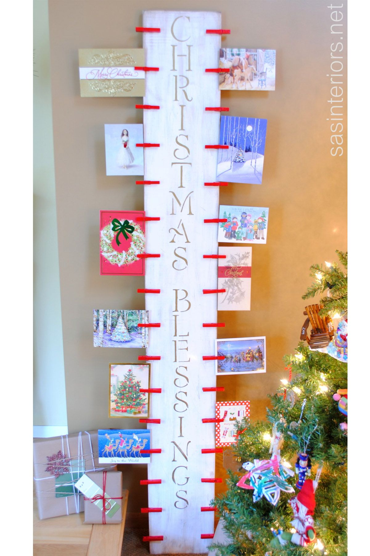 ways to decorate your christmas cards