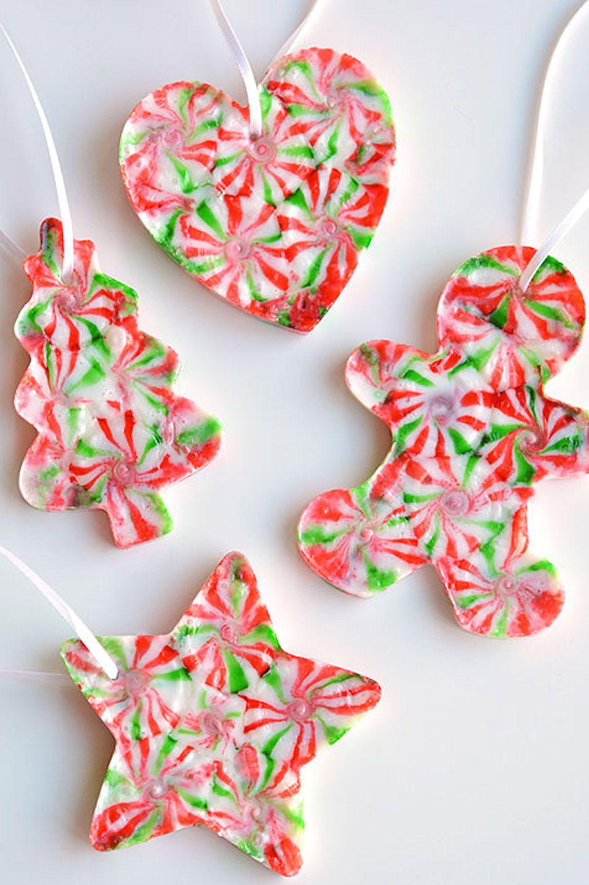 71 Easy Christmas Crafts Simple Diy Holiday Craft Ideas