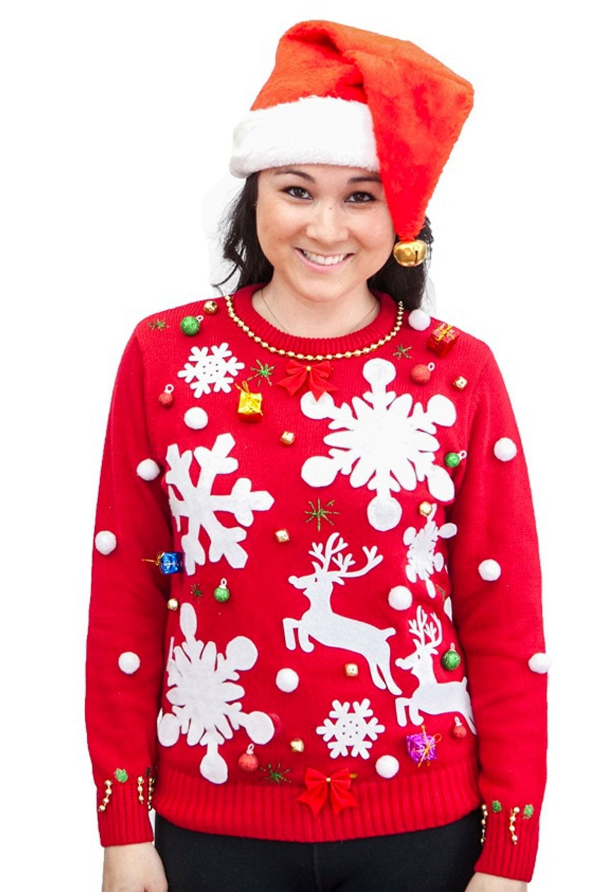 59e3022f263 22 Ugly Christmas Sweater Ideas to Buy and DIY - Tacky Christmas Sweaters  for Women