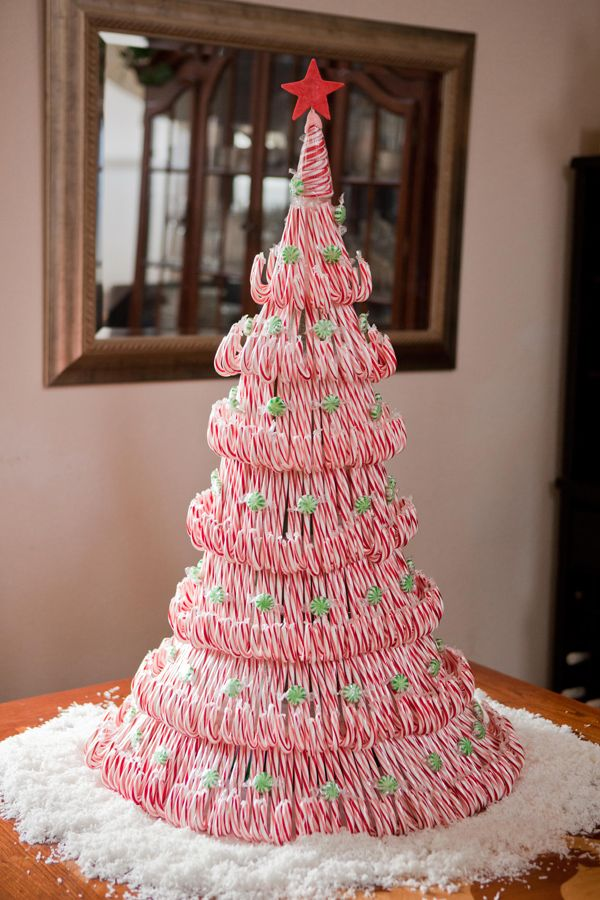 Candy Cane Christmas Tree.25 Candy Cane Crafts Diy Decorations With Candy Canes