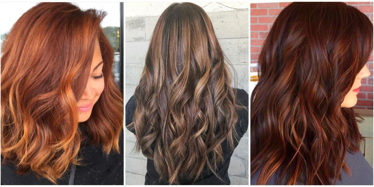 10 Hair Colors Inspired By Fall Fall Hair Colors 2017
