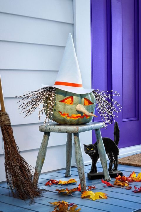 Candy corn, Witch hat, Tree, Table,
