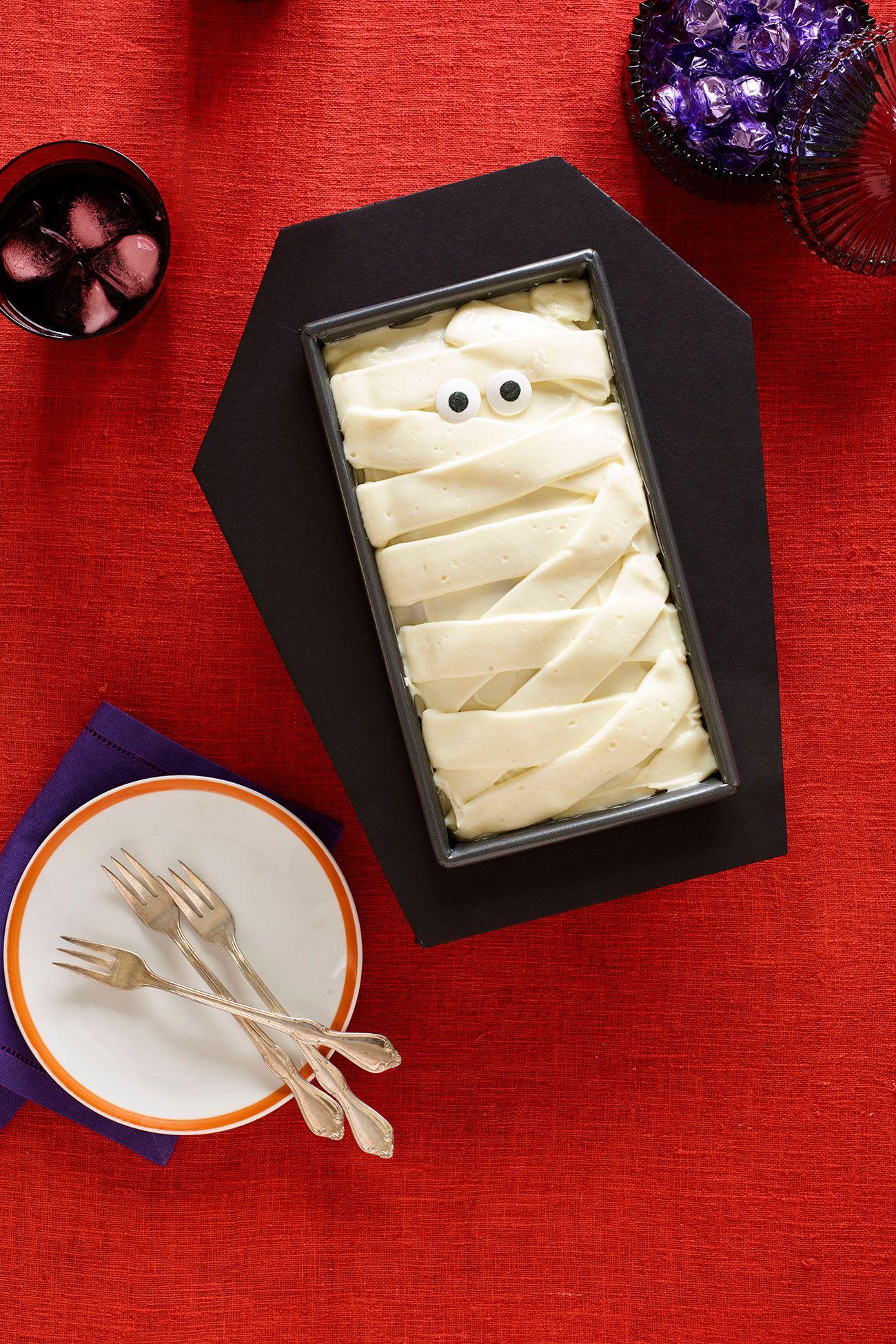 halloween treatsCoffin Cake
