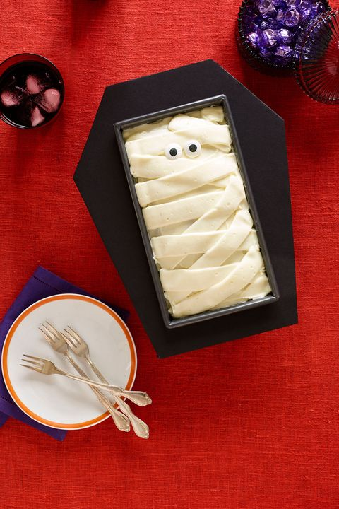 halloween desserts -Coffin Cake
