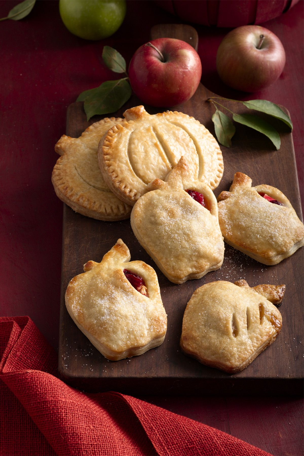apple and cranberry hand pies thanksgiving dessert