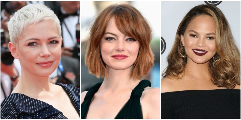 2019 Hairstyles For Round Faces: 12 Best Hairstyles For Round Faces