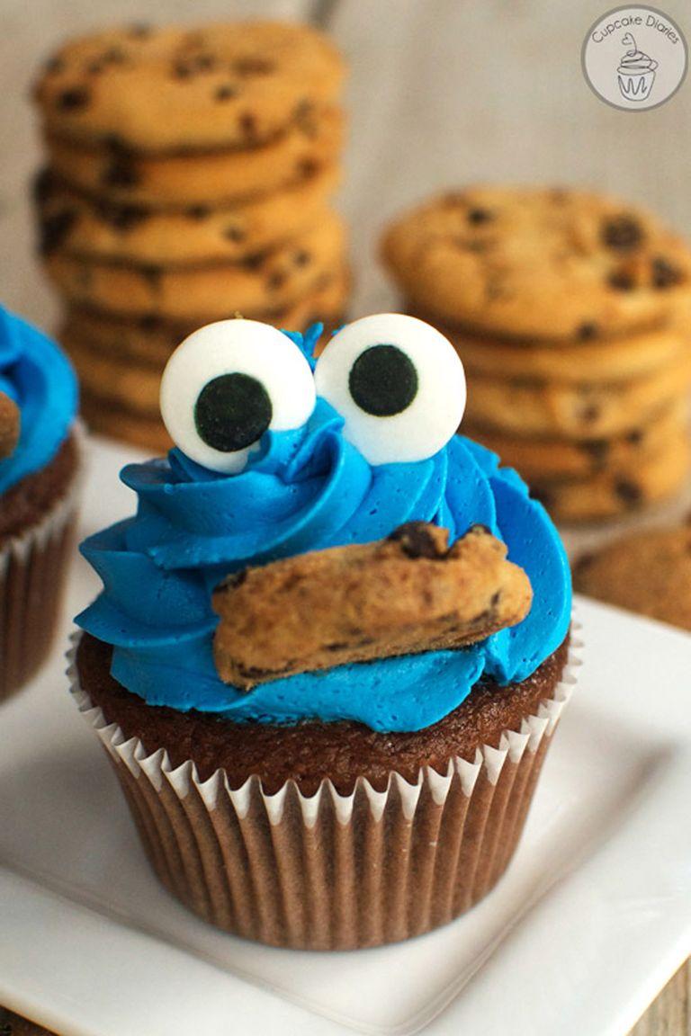10 Easy Cupcake Recipes for Kids - Cute Cupcake Decorating ... |Cute Easy Cupcake Decorating Ideas