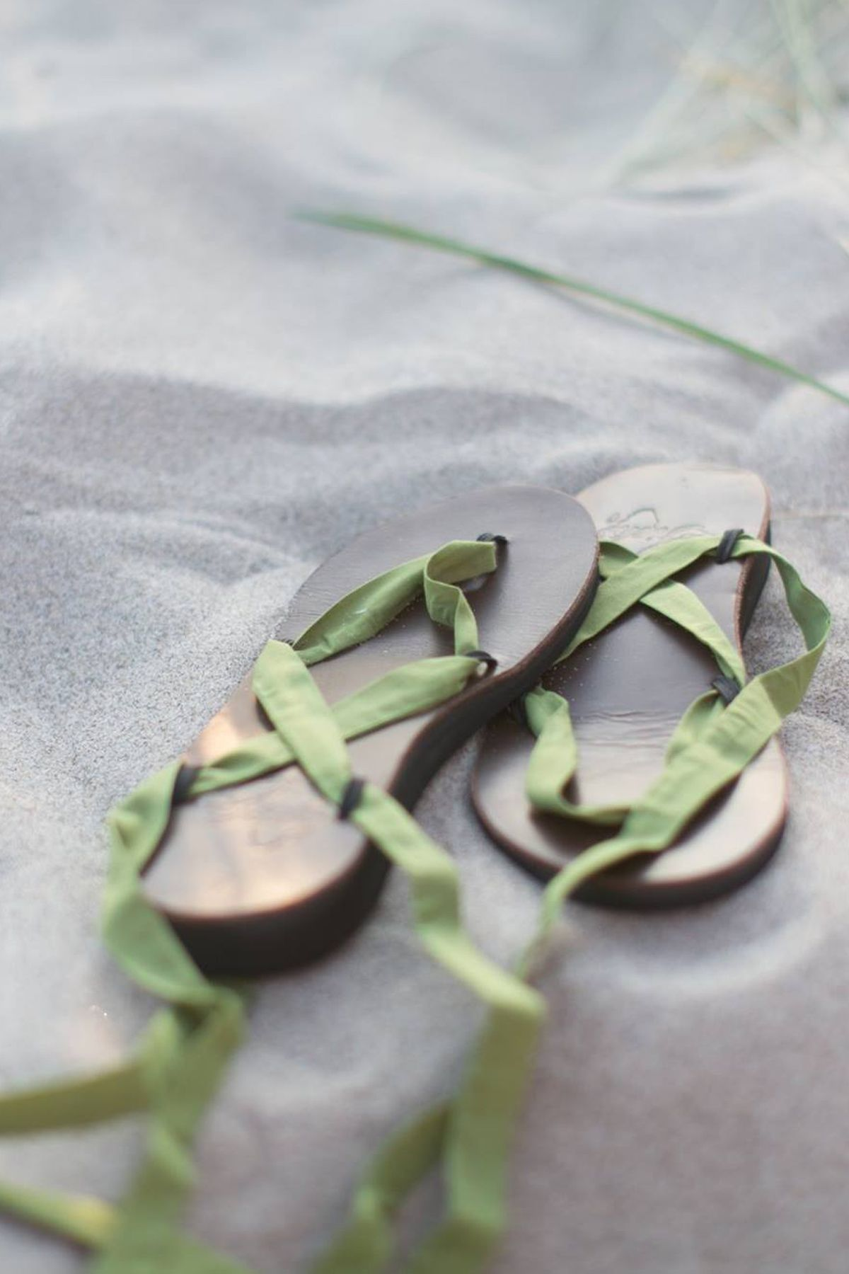 Sseko Brown Leather Ribbon Sandals Gifts That Give Back
