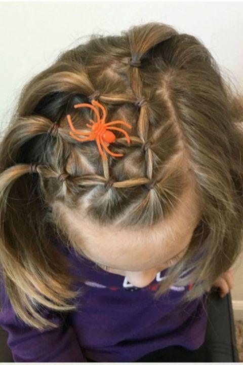 8 Halloween Hair Ideas For Kids Easy Halloween Hair