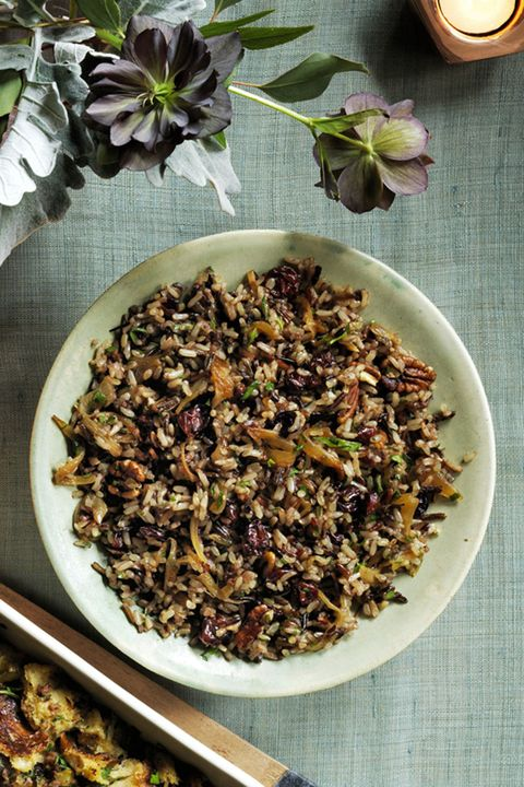 Wild Rice and Cherry Pilaf Thanksgiving Side Dishes
