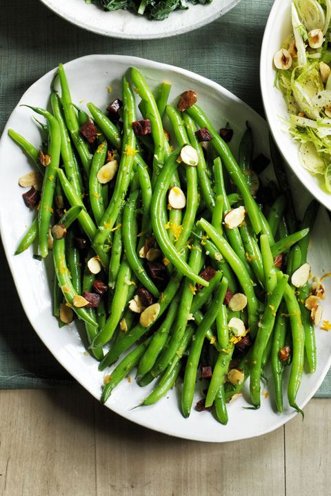 Green Beans with Chorizo Thanksgiving Side Dishes