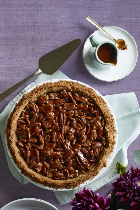 Salted Caramel Pecan and Chocolate Pie Thanksgiving Dessert