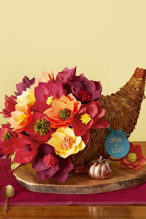 thanksgiving crafts keepsake centerpiece