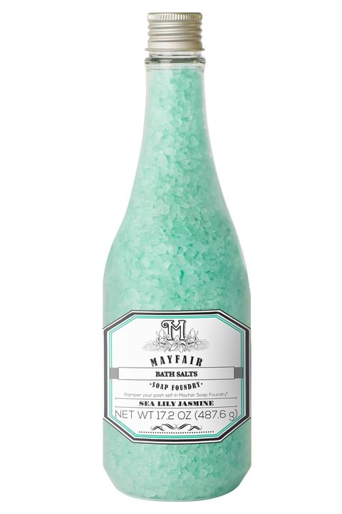 mayfair soap foundry sea lily jasmine bath salts gifts that give back