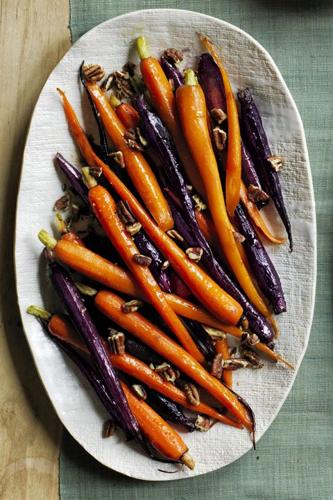 Pecan Pie Glazed Carrots Thanksgiving Side Dish