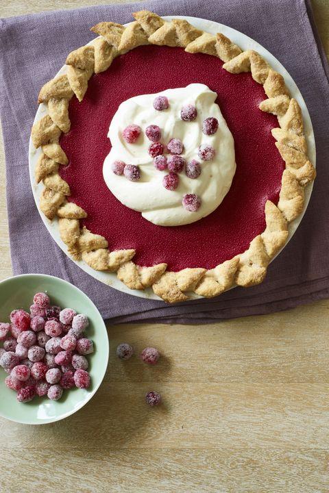 Christmas Dinner Cranberry Pie
