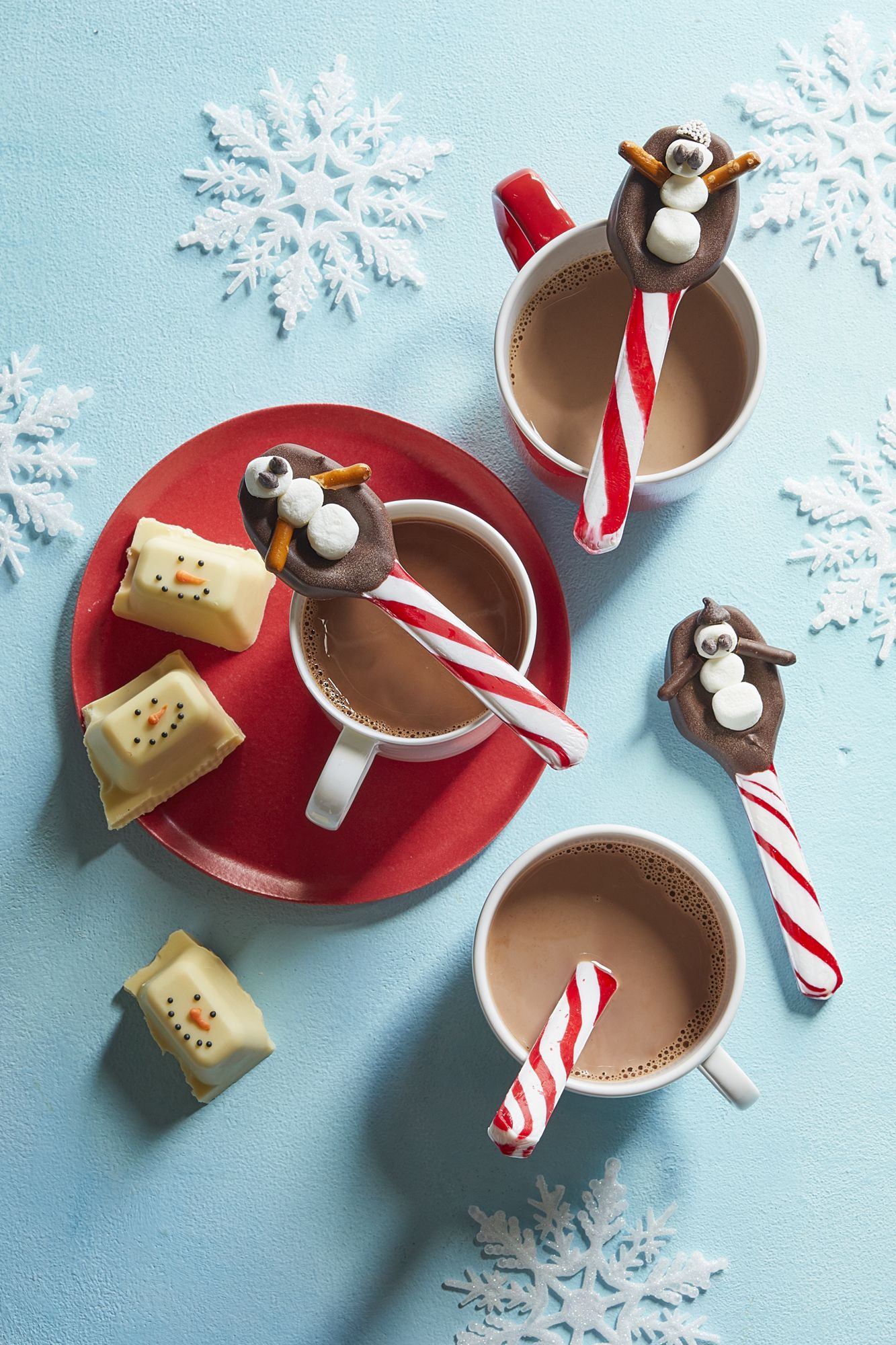 Christmas Activities for Kids Snowman Spoons
