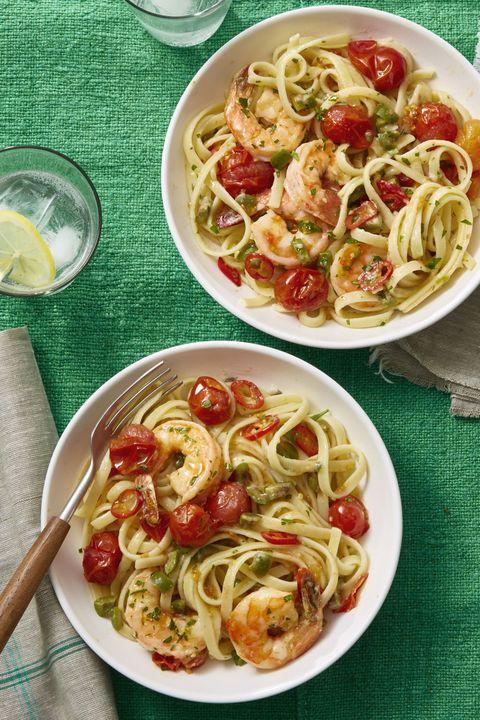 pasta recipes shrimp puttanesca