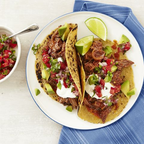 Chipotle Beef Tacos with Pico