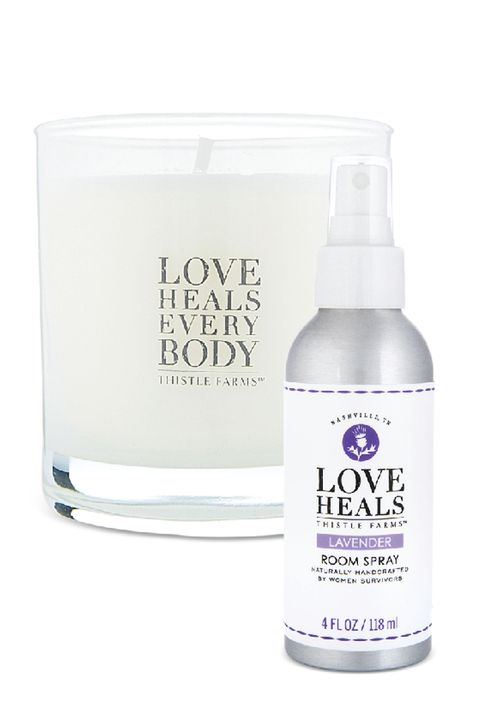 thistle farms soy candle and room spray gifts that give back