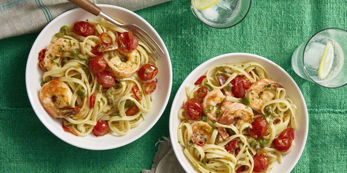 How To Make Shrimp Puttanesca Best Shrimp Puttanesca Recipe