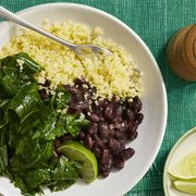 Stewed Black Beans with Collared Greens