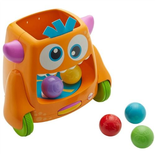 Fisher-Price Zoom 'n Crawl Monster Christmas Toy