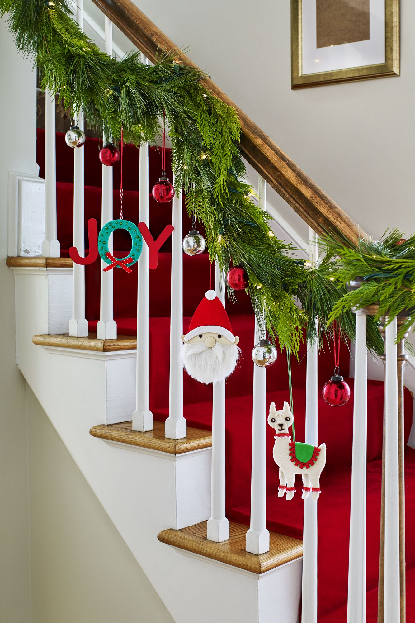 Christmas Decorating Ideas anywhere ornaments