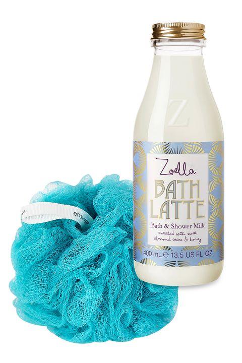 Zoella Beauty Bath Latte And Ecotools Exfoliating Sponge Gifts Under 20