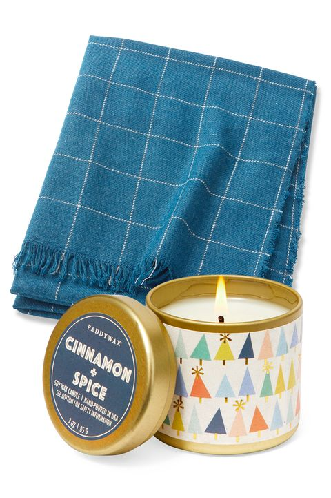 Ikea Varkrage Throw And Paddywax Cinnamon E Kaleidoscope Candle Gifts Under 20