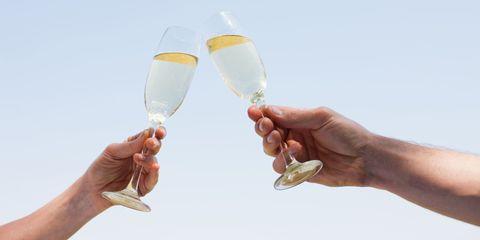 Champagne stemware, Drink, Champagne, Hand, Stemware, Glass, Drinkware, Alcohol, Wine, Wine glass,