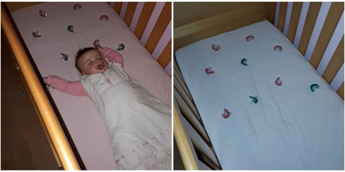 This Mom's Trick For Getting Her Baby To Sleep Through The Night Is Going Viral