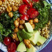 light dinner ideascrispy chickpea and kale bowl