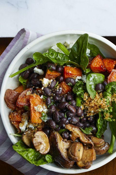 light dinner ideasroasted vegetable bowl