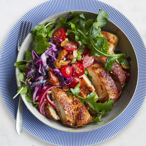 easy chicken dinner recipes - Moroccan Chicken Bowl