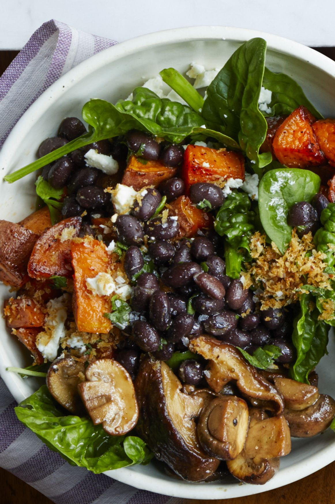 light dinner ideas roasted vegetable bowl