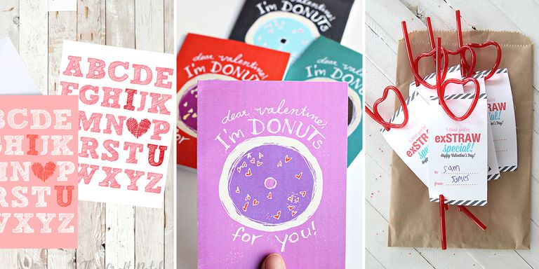 22 Cute DIY Valentine\'s Day Cards - Homemade Card Ideas for ...