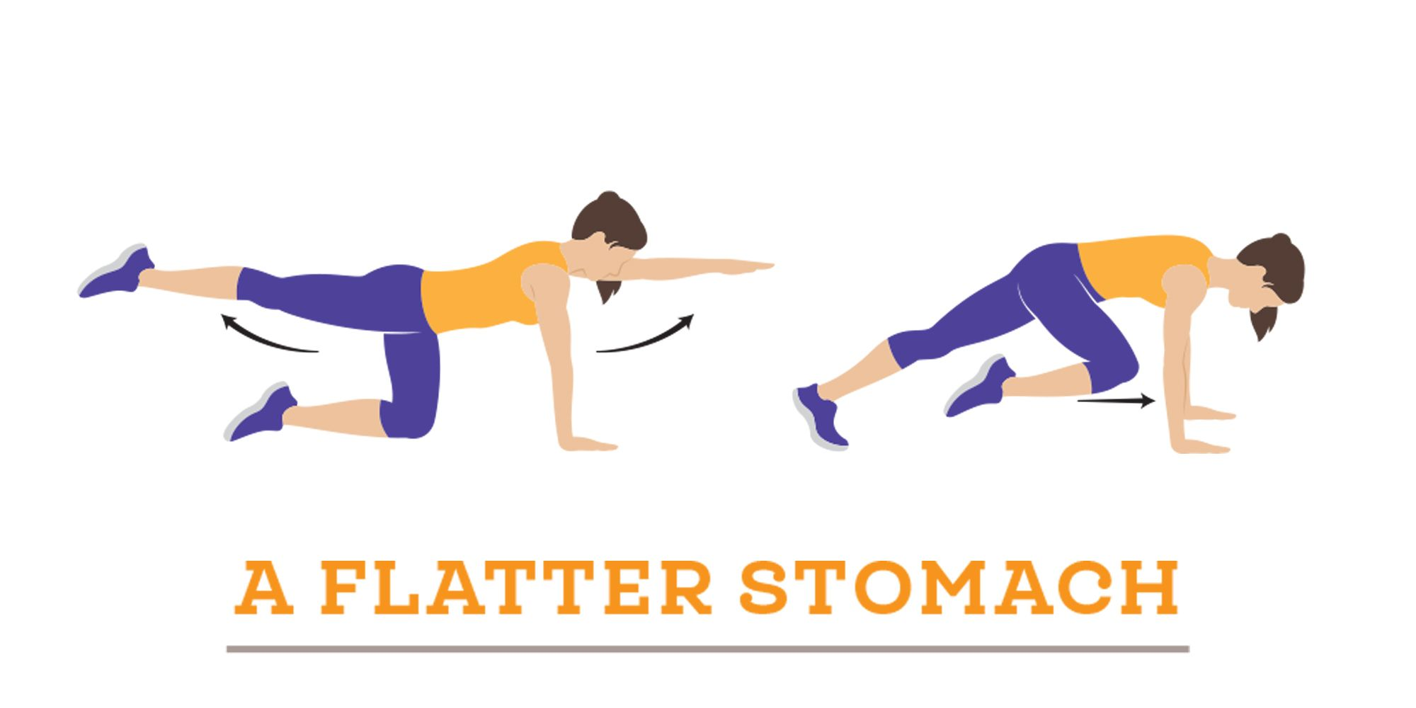 flat stomach move